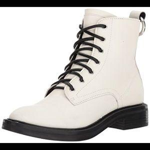 Dolce Vita Bardot boots in White
